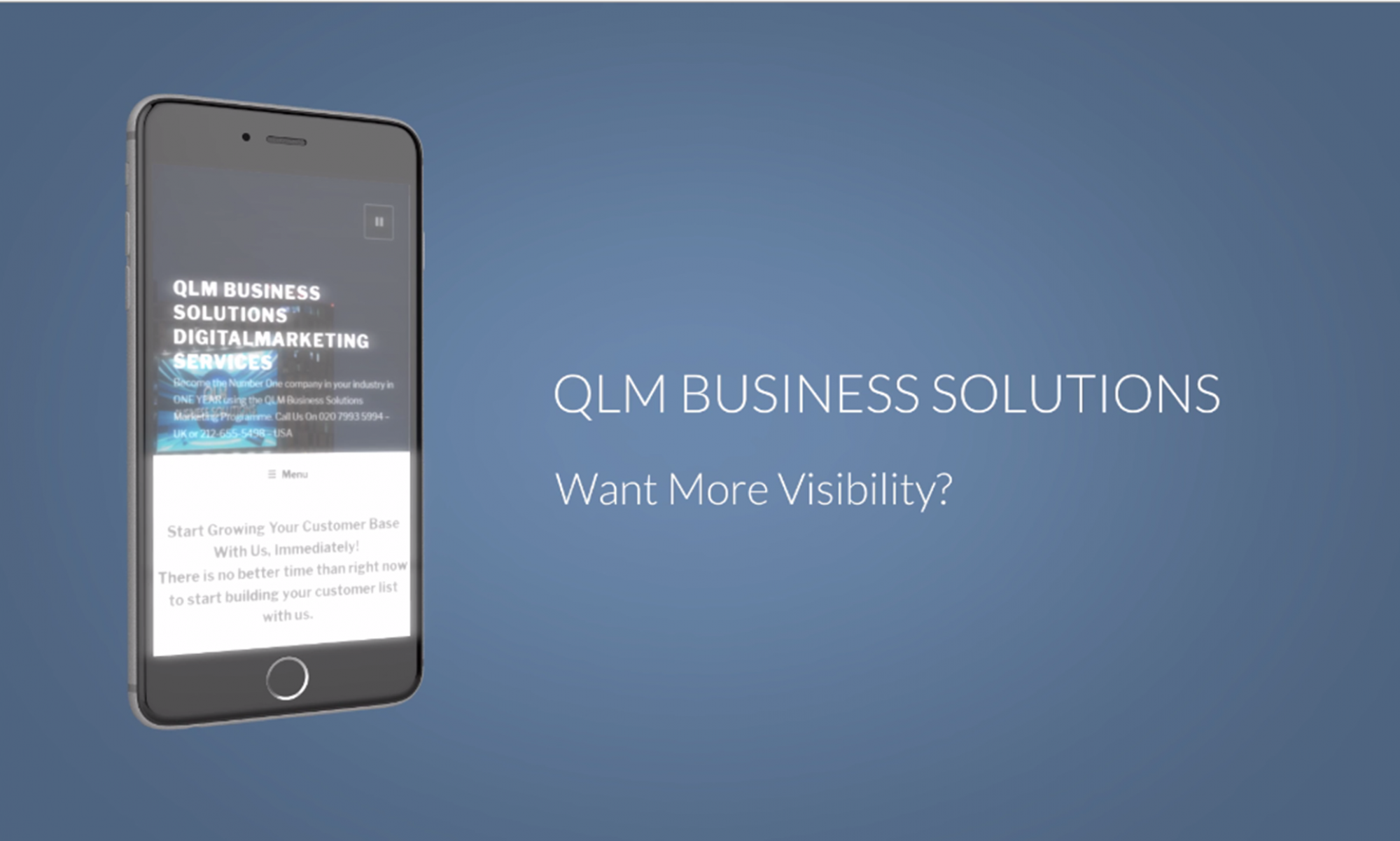 QLM Business Solutions DigitalMarketing Services
